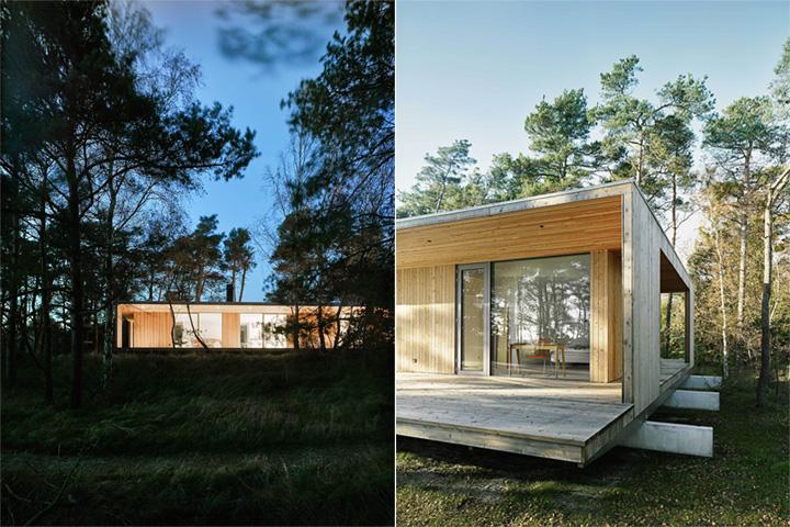 Sommarhus Akenine - Thiết kế nhà nghỉ dưỡng mùa hè trong rừng 4