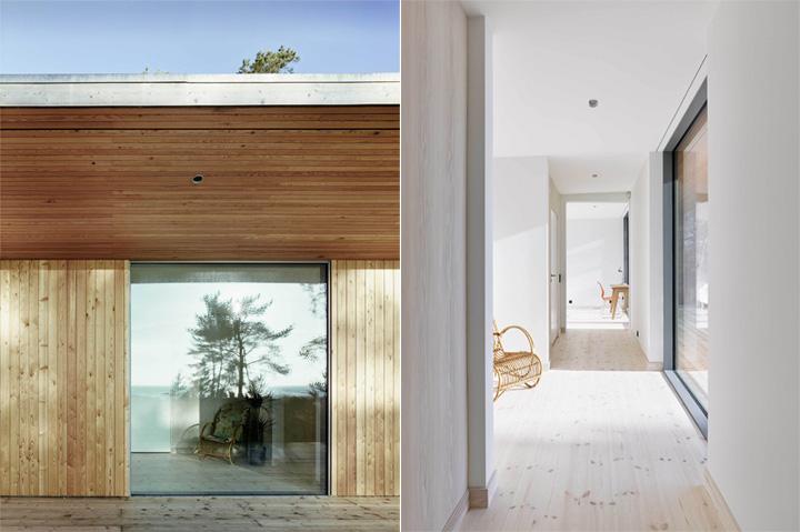 Sommarhus Akenine - Thiết kế nhà nghỉ dưỡng mùa hè trong rừng 8
