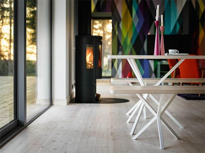 Sommarhus Akenine - Thiết kế nhà nghỉ dưỡng mùa hè trong rừng 9