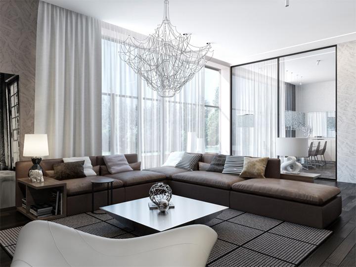 Thiết kế nội thất căn hộ hiện đại theo phong cách năng động 3