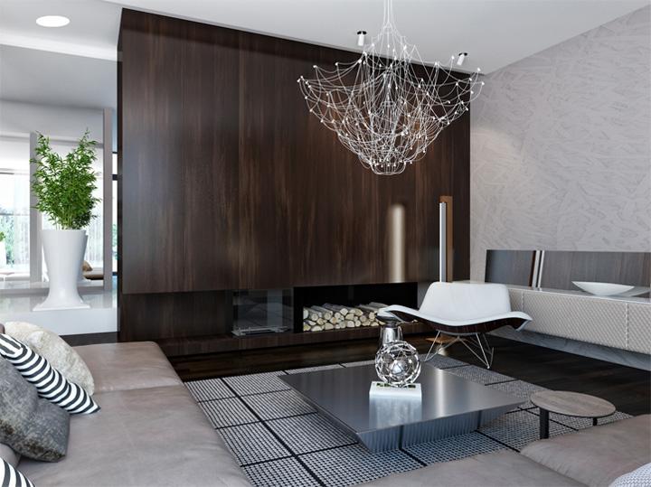 Thiết kế nội thất căn hộ hiện đại theo phong cách năng động 2