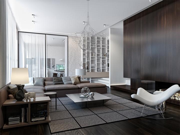 Thiết kế nội thất căn hộ hiện đại theo phong cách năng động 1