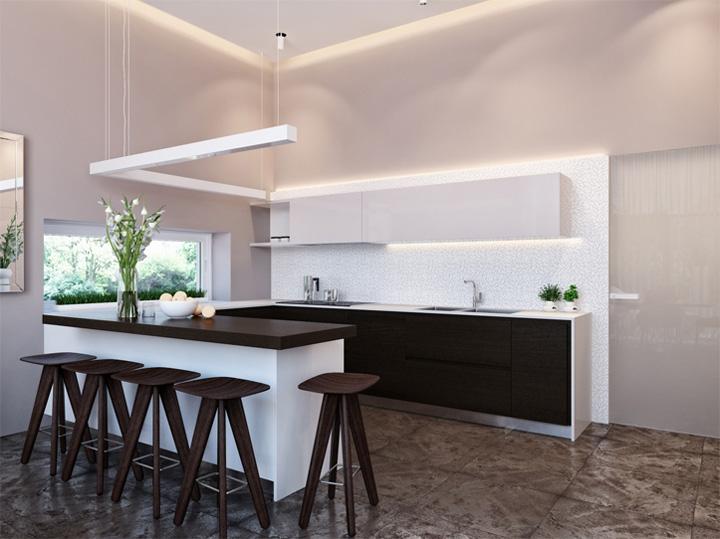 Thiết kế nội thất căn hộ hiện đại theo phong cách năng động 5