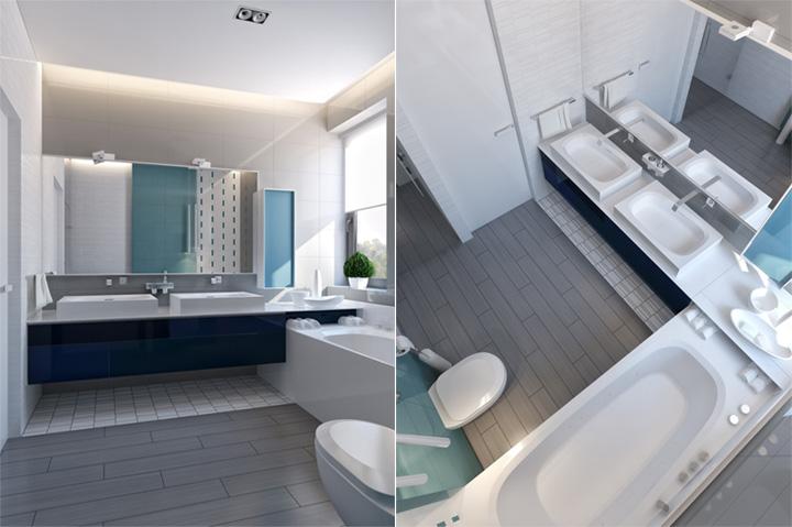 Thiết kế nội thất căn hộ hiện đại theo phong cách năng động 11