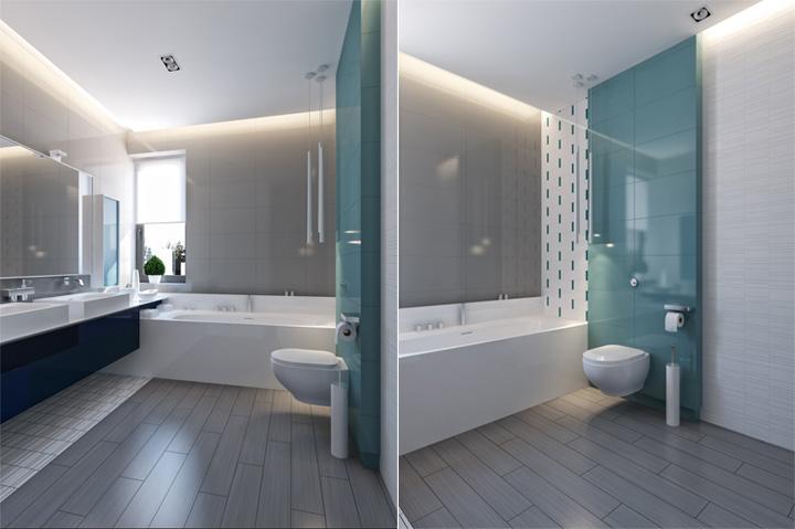 Thiết kế nội thất căn hộ hiện đại theo phong cách năng động 12