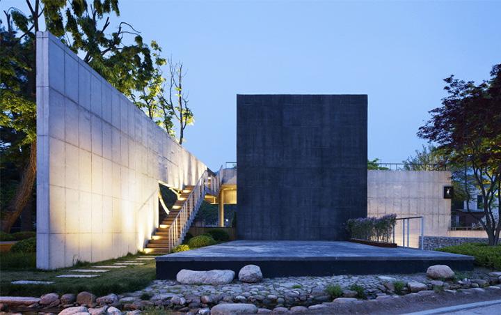 Songchu - Khám phá thiết kế khu nghỉ dưỡng dưới chân núi Bukhansan 1