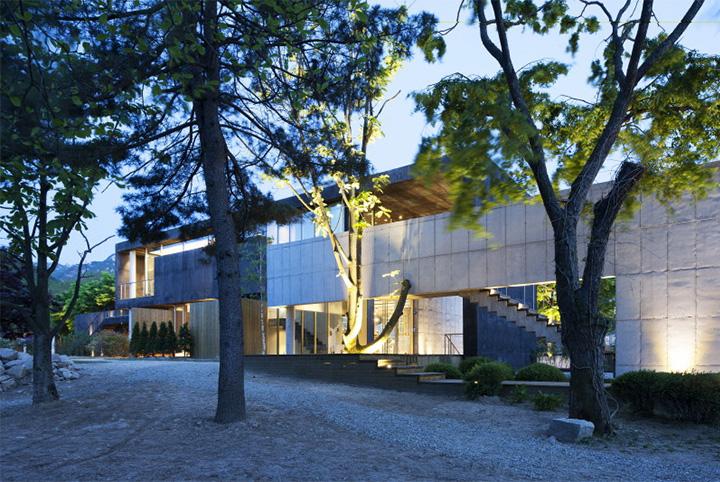 Songchu - Khám phá thiết kế khu nghỉ dưỡng dưới chân núi Bukhansan 7