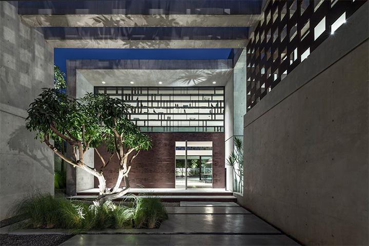 Nét phóng khoáng với thép trong thiết kế biệt thự sân vườn hiện đại 15