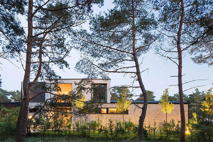 Villa J - Ý tưởng thiết kế biệt thự sân vườn đẹp tại Thụy Điển 4