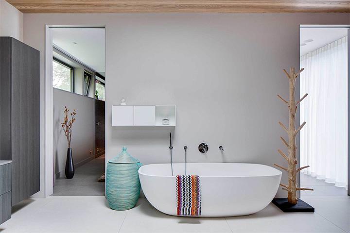 Villa J - Ý tưởng thiết kế biệt thự sân vườn đẹp tại Thụy Điển 11