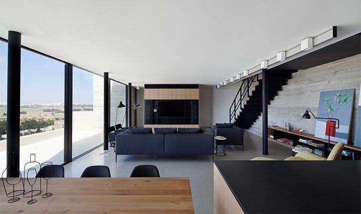 Y Penthouse – Thiết kế căn hộ cao cấp hai tầng tiện nghi 1