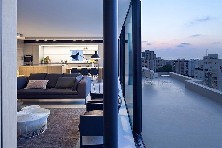 Y Penthouse – Thiết kế căn hộ cao cấp hai tầng tiện nghi 9