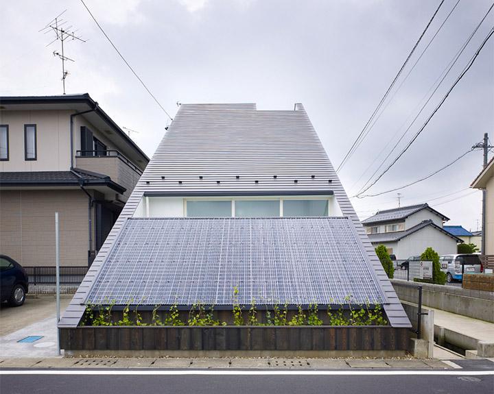 Ogaki House - Thiết kế nhà đẹp và độc đáo với hình dạng tam giác 5
