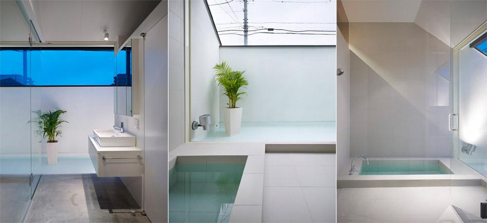 Ogaki House - Thiết kế nhà đẹp và độc đáo với hình dạng tam giác 7