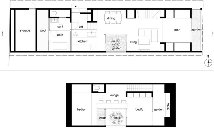 Ogaki House - Thiết kế nhà đẹp và độc đáo với hình dạng tam giác 8