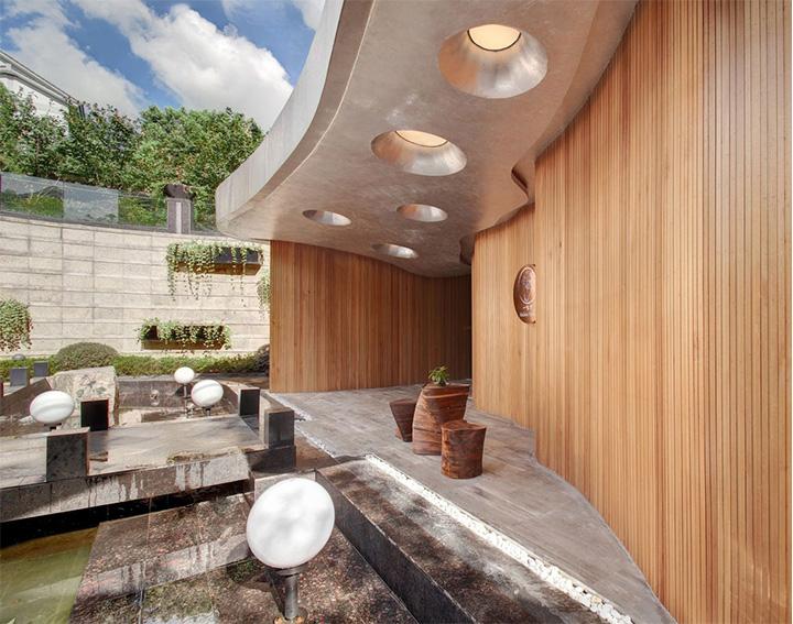 Nét thanh tịnh với mẫu thiết kế nội thất spa nghỉ dưỡng đẹp 1