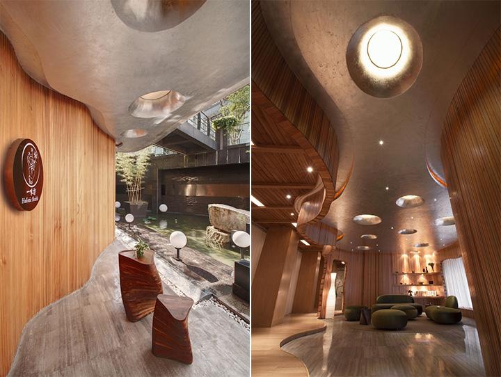 Nét thanh tịnh với mẫu thiết kế nội thất spa nghỉ dưỡng đẹp 2
