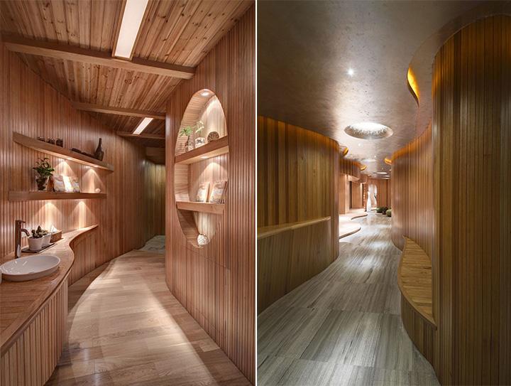 Nét thanh tịnh với mẫu thiết kế nội thất spa nghỉ dưỡng đẹp 3