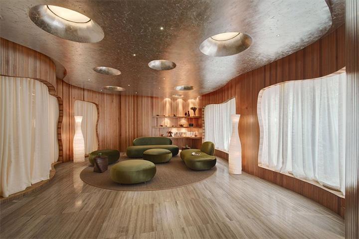 Nét thanh tịnh với mẫu thiết kế nội thất spa nghỉ dưỡng đẹp 4
