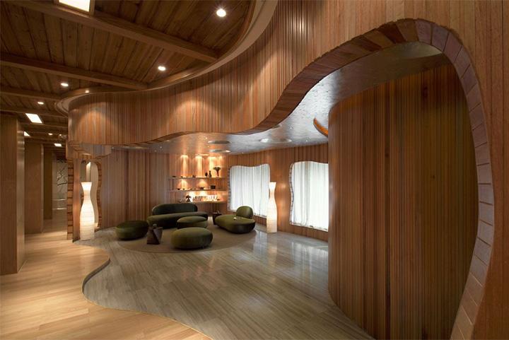 Nét thanh tịnh với mẫu thiết kế nội thất spa nghỉ dưỡng đẹp 5