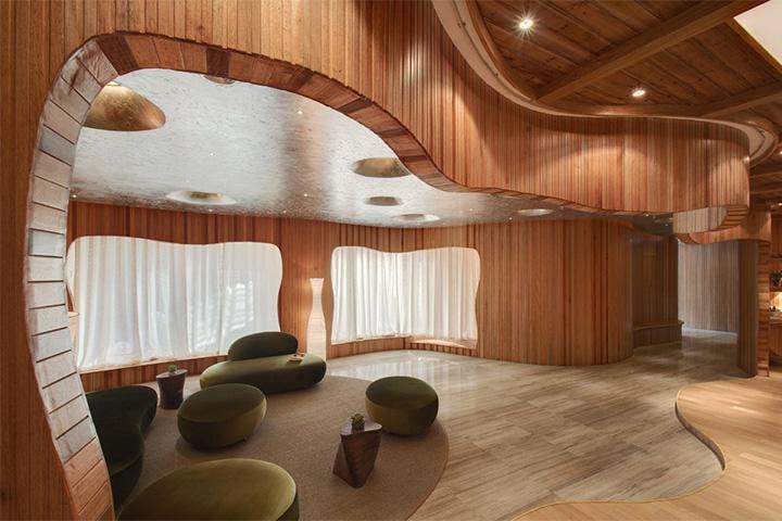 Nét thanh tịnh với mẫu thiết kế nội thất spa nghỉ dưỡng đẹp 7