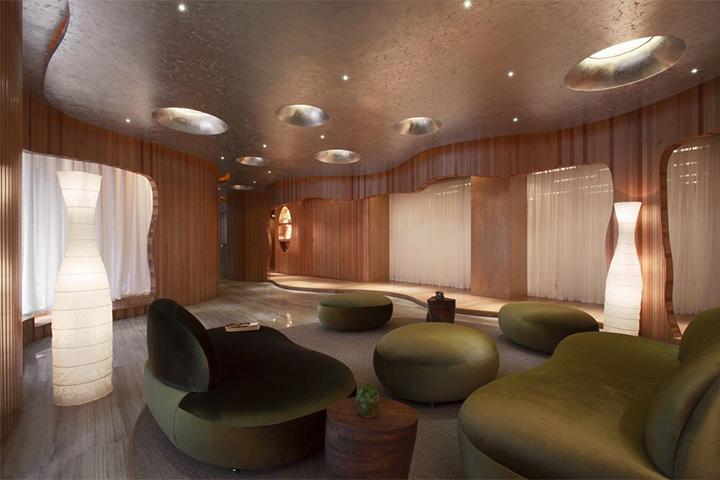 Nét thanh tịnh với mẫu thiết kế nội thất spa nghỉ dưỡng đẹp 8