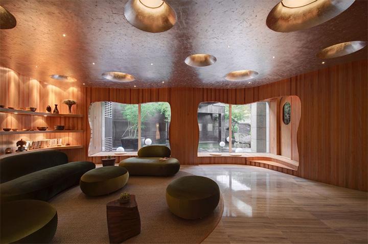 Nét thanh tịnh với mẫu thiết kế nội thất spa nghỉ dưỡng đẹp 9
