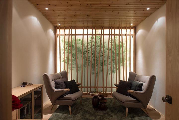 Nét thanh tịnh với mẫu thiết kế nội thất spa nghỉ dưỡng đẹp 11
