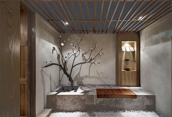 Nét thanh tịnh với mẫu thiết kế nội thất spa nghỉ dưỡng đẹp 14