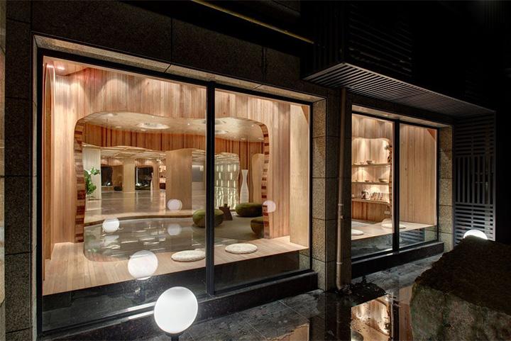 Nét thanh tịnh với mẫu thiết kế nội thất spa nghỉ dưỡng đẹp 15