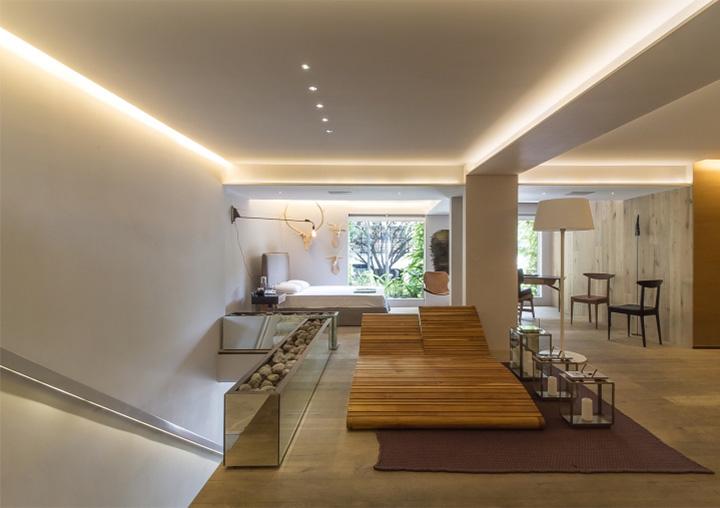 Ezequiel Farca - Gỗ và đá cẩm thạch trong thiết kế nội thất showroom 2