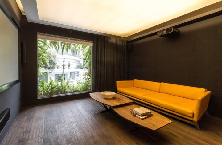 Ezequiel Farca - Gỗ và đá cẩm thạch trong thiết kế nội thất showroom 10