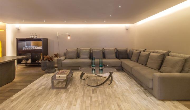 Ezequiel Farca - Gỗ và đá cẩm thạch trong thiết kế nội thất showroom 12