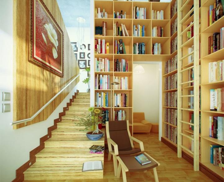 Tạo điểm nhấn riêng biệt cho không gian góc đọc sách 15
