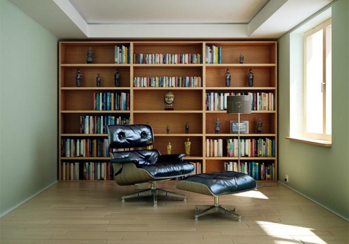 Tạo điểm nhấn riêng biệt cho không gian góc đọc sách 16