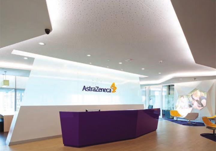 Astra zeneca – Tràn ngập màu sắc trong thiết kế văn phòng làm việc 1