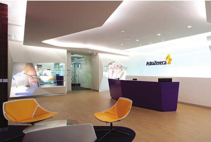 Astra zeneca – Tràn ngập màu sắc trong thiết kế văn phòng làm việc 2