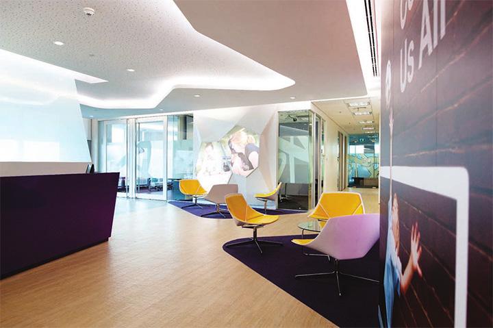Astra zeneca – Tràn ngập màu sắc trong thiết kế văn phòng làm việc 5