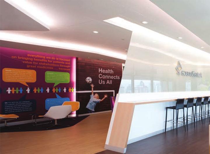 Astra zeneca – Tràn ngập màu sắc trong thiết kế văn phòng làm việc 7