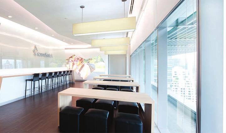 Astra zeneca – Tràn ngập màu sắc trong thiết kế văn phòng làm việc 8