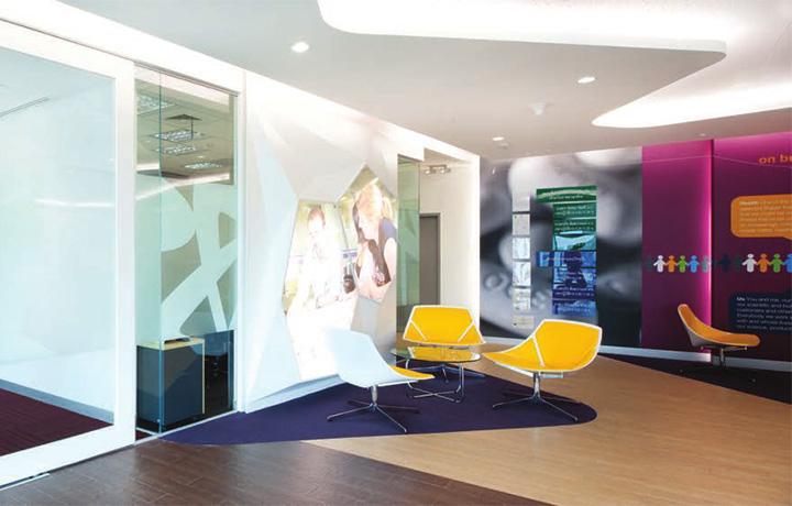Astra zeneca – Tràn ngập màu sắc trong thiết kế văn phòng làm việc 9