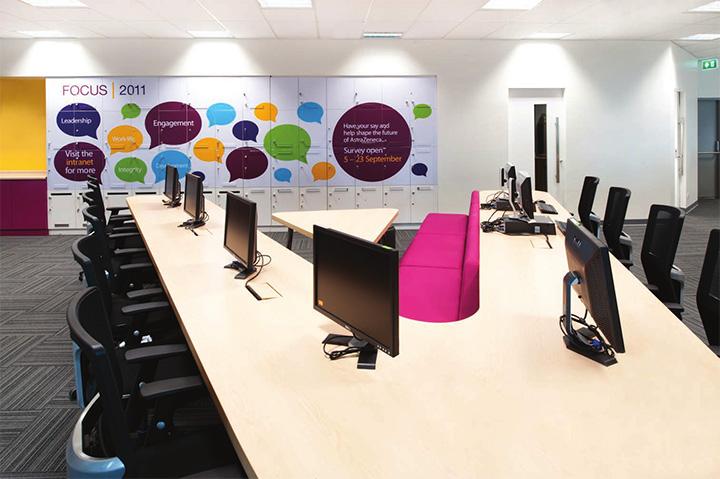 Astra zeneca – Tràn ngập màu sắc trong thiết kế văn phòng làm việc 3