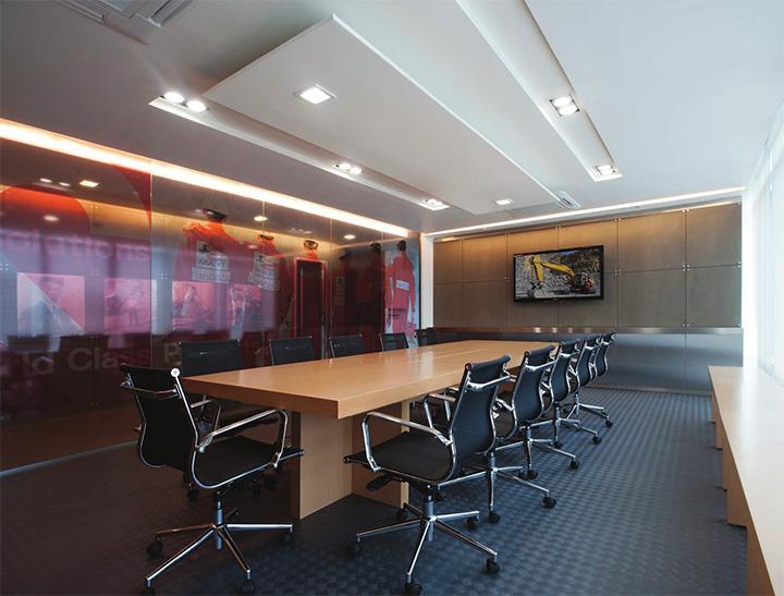 Uawhithya Headquater – Thiết kế nội thất văn phòng làm việc hiện đại 2
