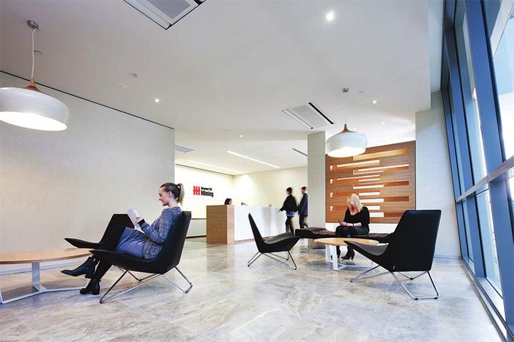 Downer  Edi Mining – Cây xanh trong thiết kế văn phòng làm việc 1