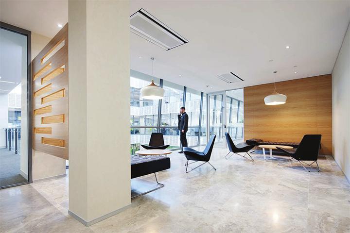 Downer  Edi Mining – Cây xanh trong thiết kế văn phòng làm việc 2
