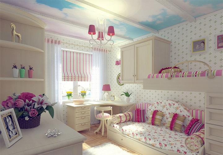 Một số bí quyết trang trí nội thất phòng ngủ đáng yêu dành cho bé gái 8