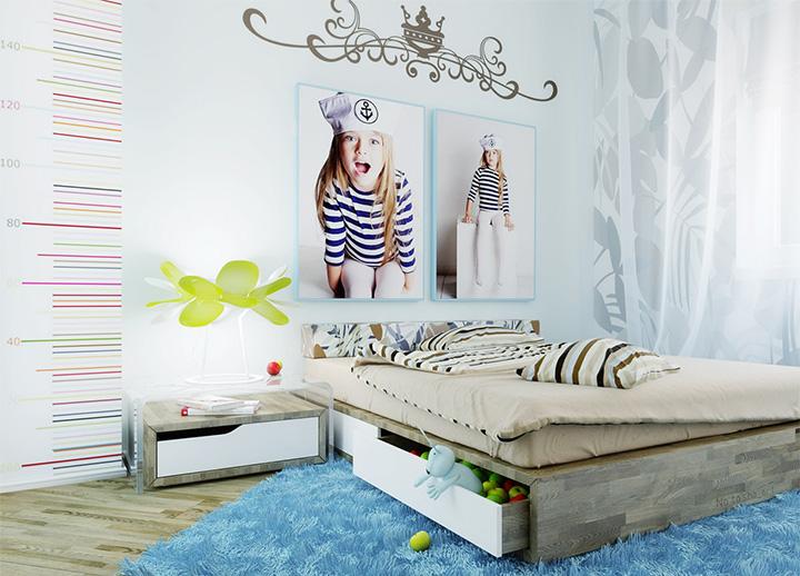 Một số bí quyết trang trí nội thất phòng ngủ đáng yêu dành cho bé gái 14