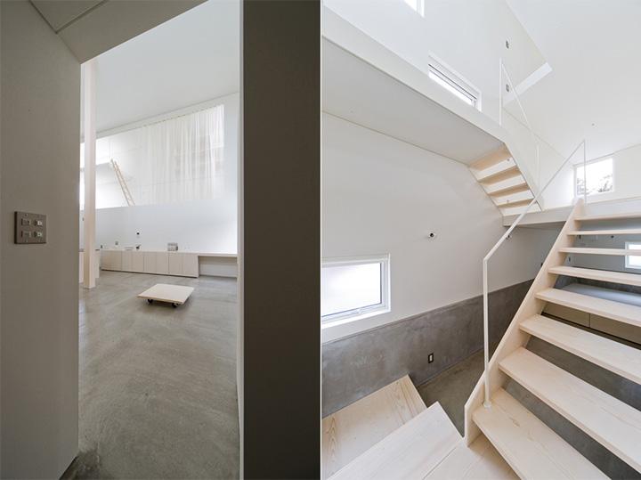 Căn nhà tràn ngập ánh sáng tự nhiên với rất nhiều cửa sổ