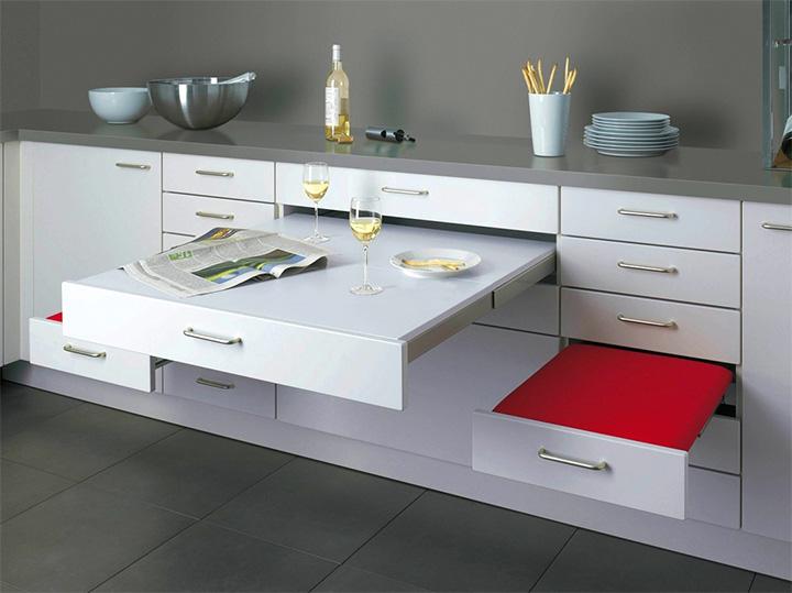 Tiết kiệm không gian trong nhà ở với đồ nội thất thông minh 1