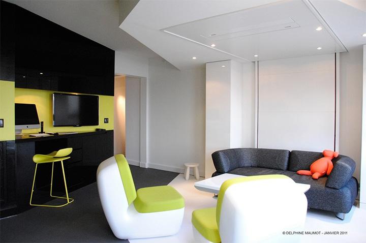 Tiết kiệm không gian trong nhà ở với đồ nội thất thông minh 6
